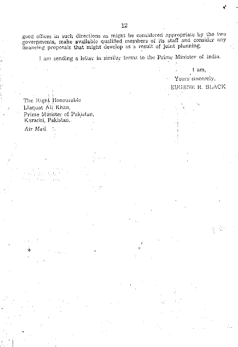 President Black's letter of 06 Sep 1951 to Prime Minister Mr. Liaqat Ali Khan-2